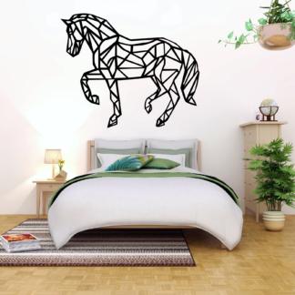 Voorbeeld Muursticker Paard