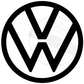 Productafbeelding Sticker VW Logo